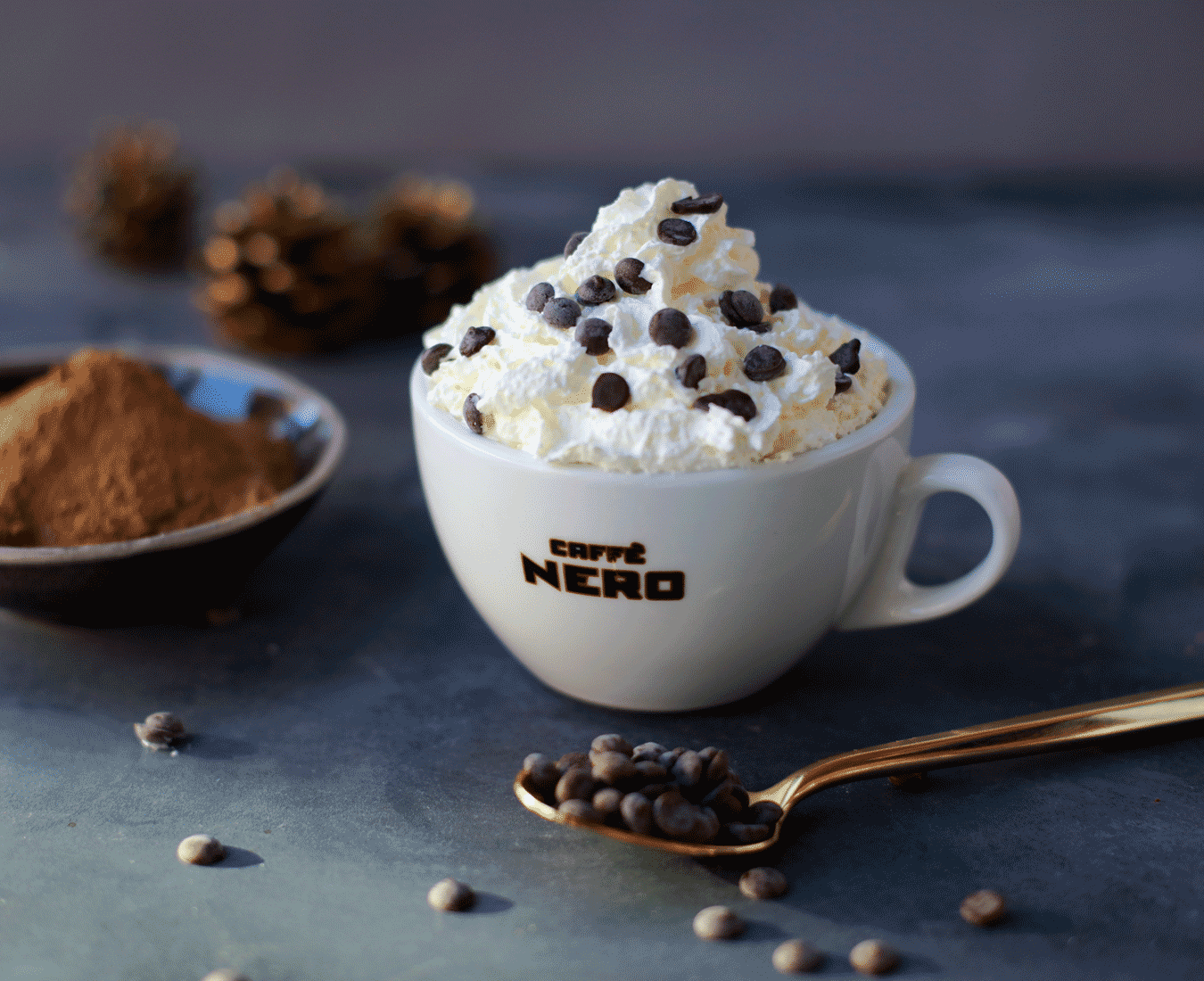 Image result for caffe nero salted caramel hot chocolate
