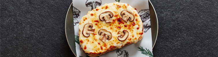 Roasted Mushroom & Mascarpone Tostati Melt