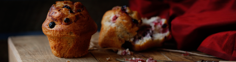 Berry Burst Filled Muffin