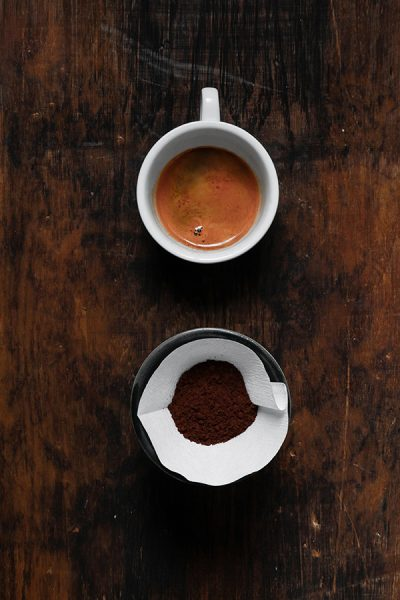Espresso and filter coffee
