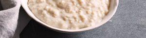 Porridge (Soya Milk)