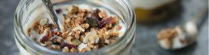 Coconut, Mango & Passionfruit Granola Pot