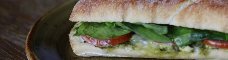 Chargrilled Chicken & Pesto Panini